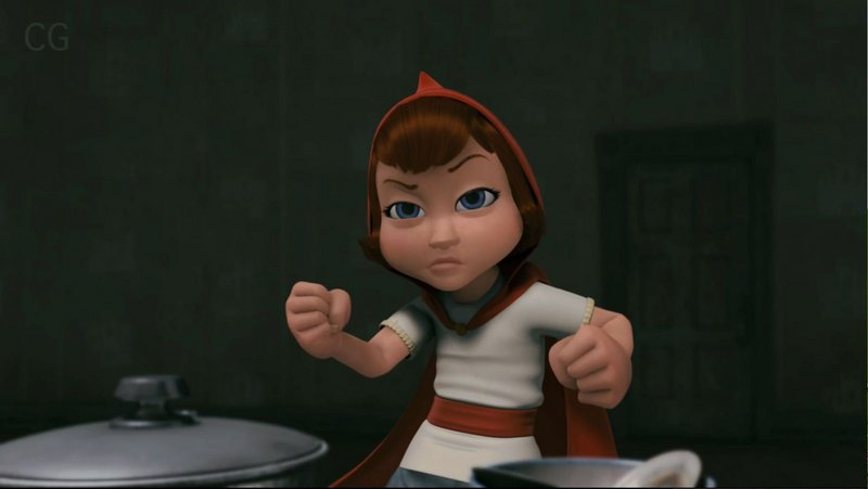 Red, voiced by Hayden Panettiere (who takes over the role from Anne Hathaway), sharpens her martial arts skills in