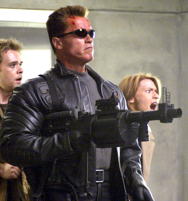 "Arnold Schwarzenegger, shown as the Terminator in ""Terminator 3: Rise of the Machines,"" will return to the science-fiction franchise. There is no script or screenwriter yet, but the film will be directed by Justin Lin."
