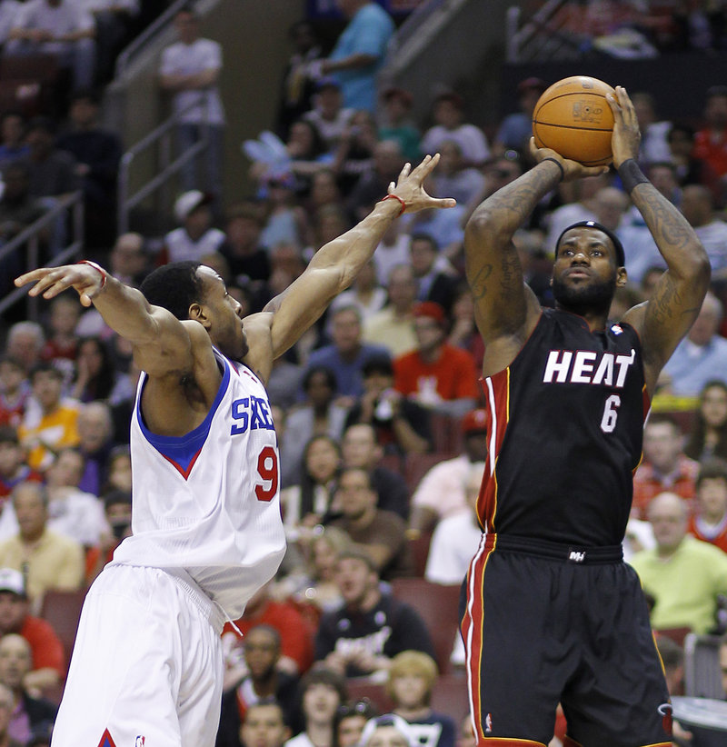 LeBron James of the Miami Heat will have his own reason to want to beat Boston. The Celtics have knocked him out of the playoffs in two of the last three seasons.