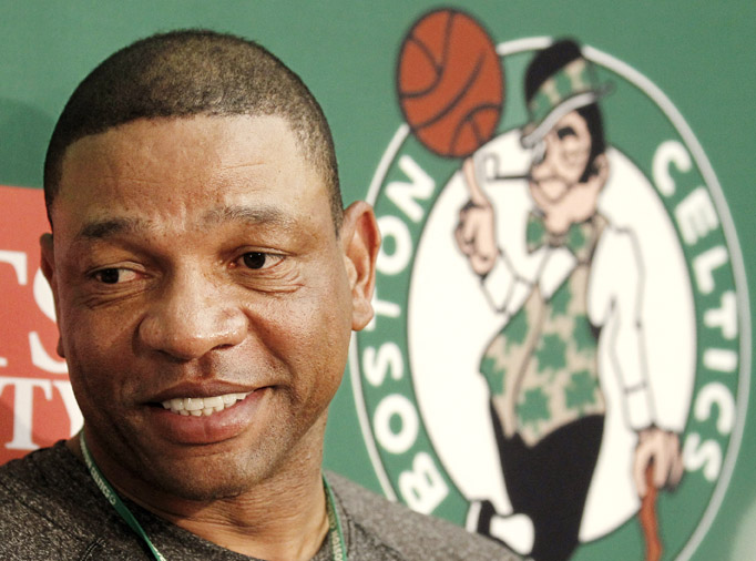 Boston Celtics head coach Doc Rivers