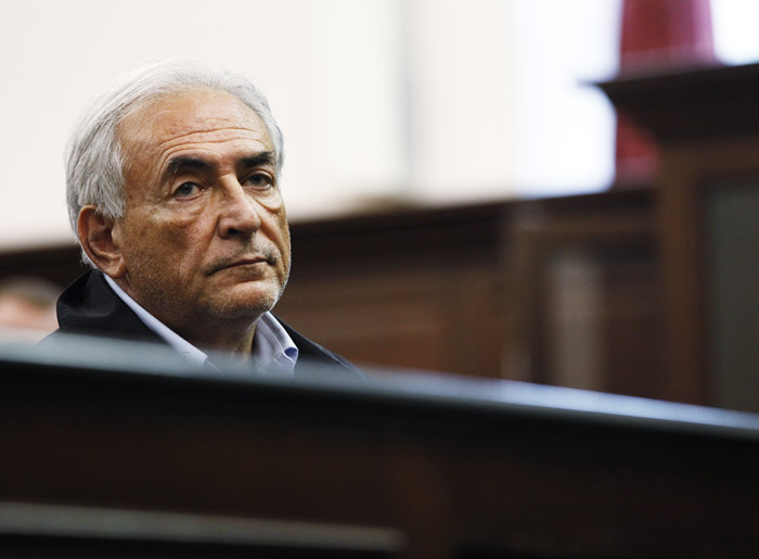 Dominique Strauss-Kahn must remain jailed at least until his next court hearing for attempted rape and other charges.