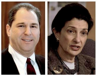 Scott D'Amboise is challenging Sen. Olympia Snowe in the Republican primary for Senate.
