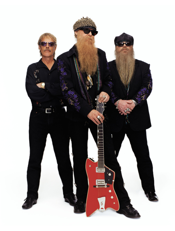 From left, Frank Beard, Billy Gibbons and Dusty Hill.