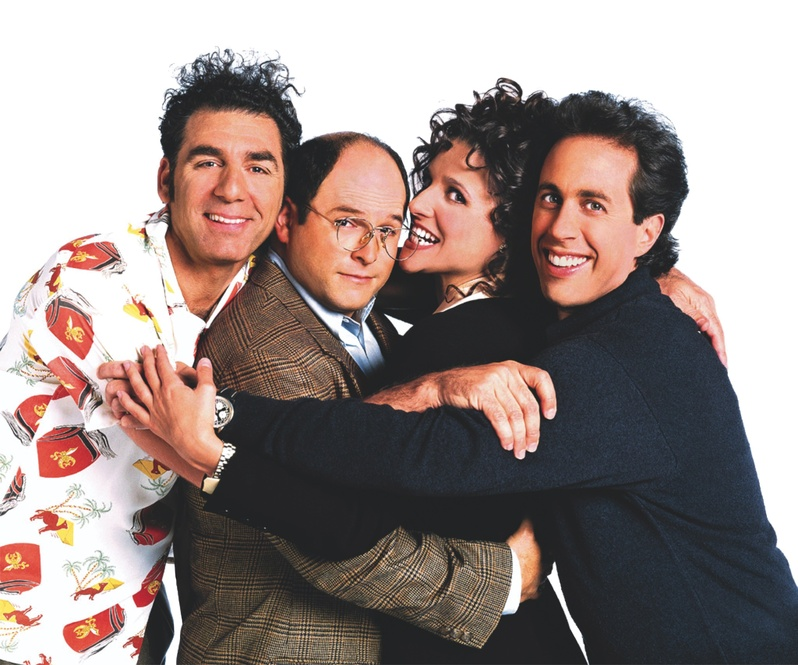 The Seinfeld gang
