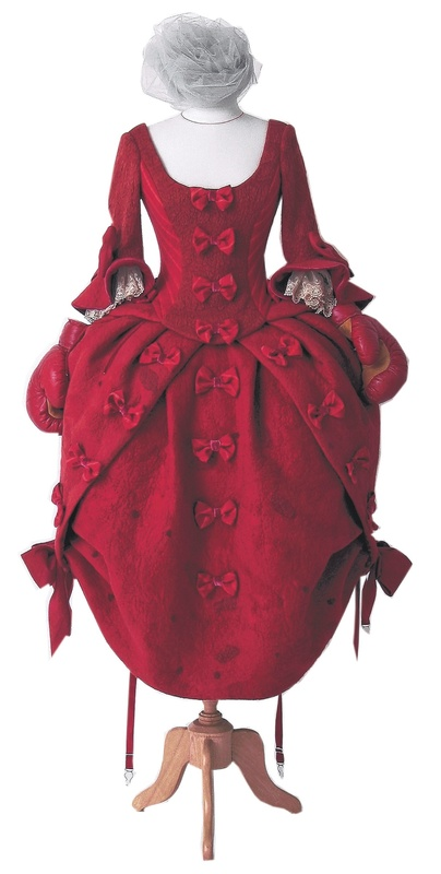 "Hand-felted dresses by artist Angelika Werth are included in the ""Refashioned"" show, which opens Saturday at the Portland Museum of Art."