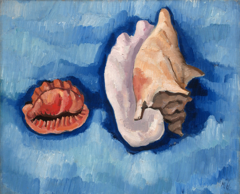 "Marsden Hartley's ""Two Shells."""
