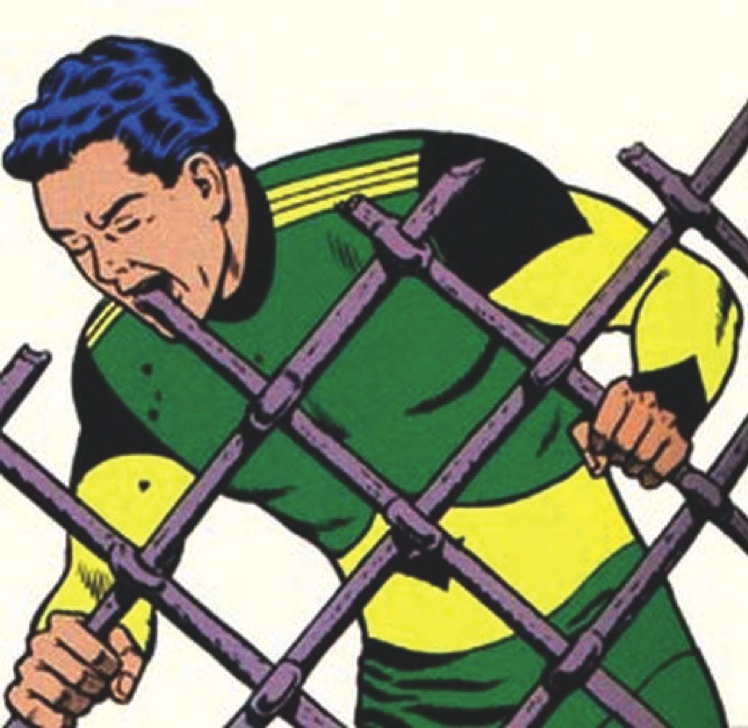 Fight the evil fence, Matter-Eater Lad. Um, awesome.