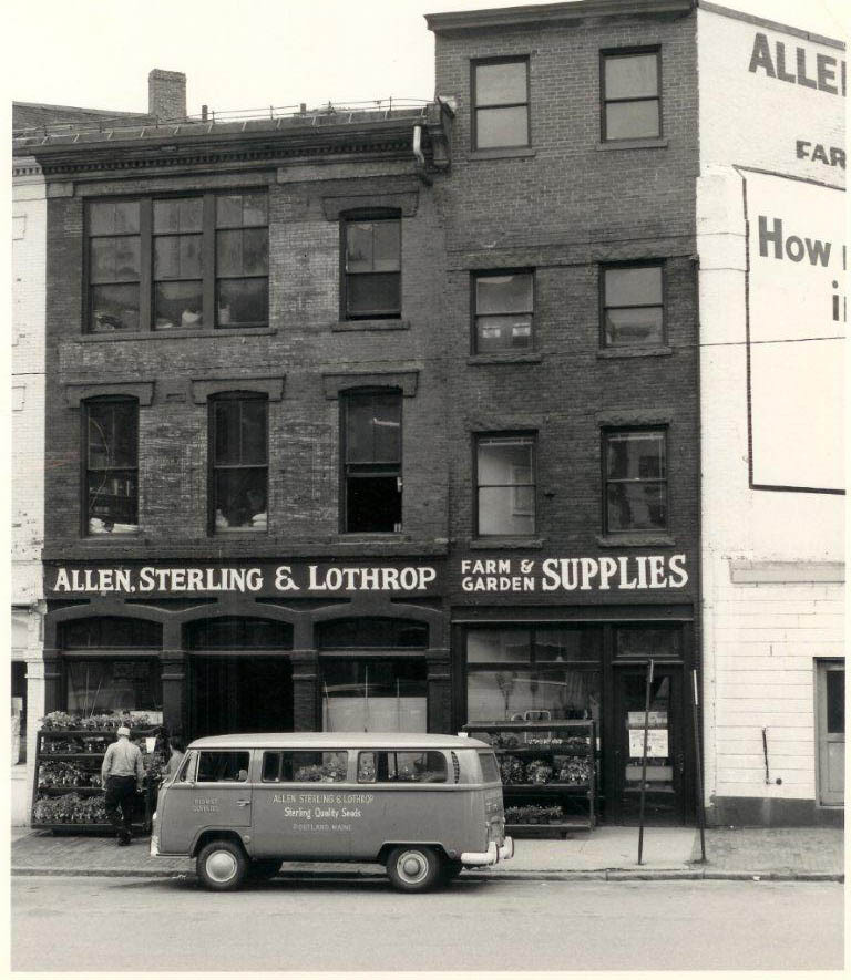 ASL when it was located on Exchange Street in Portland.