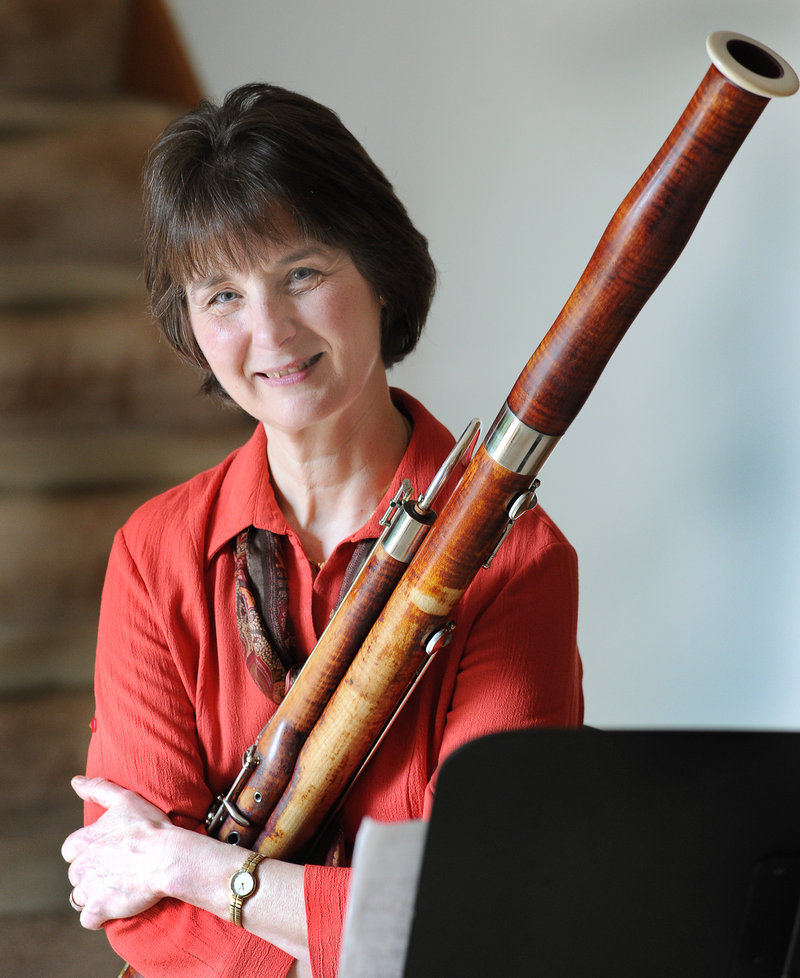 Janet Polk will be featured on Mozart s Bassoon Concerto during the PSO s concerts today and Tuesday. She likes the Mozart piece because it just goes all over the range of the instrument. There is not a note untouched.