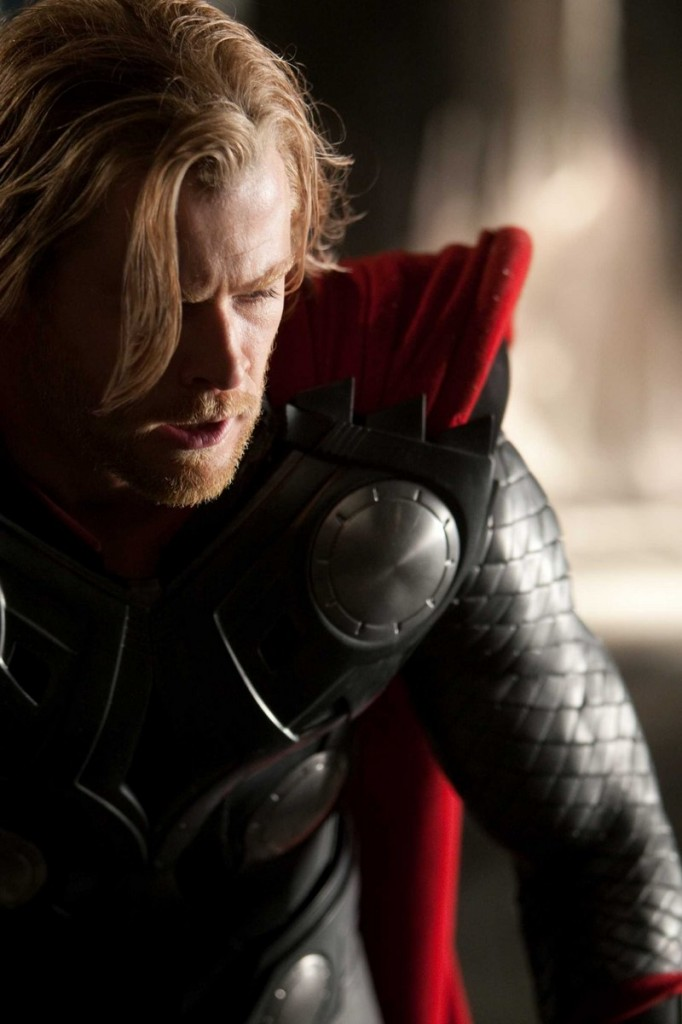 """Chris Hemsworth as the title character in Paramount Pictures' """"Thor,"""" the first of the summer's superhero flicks to hit screens."""