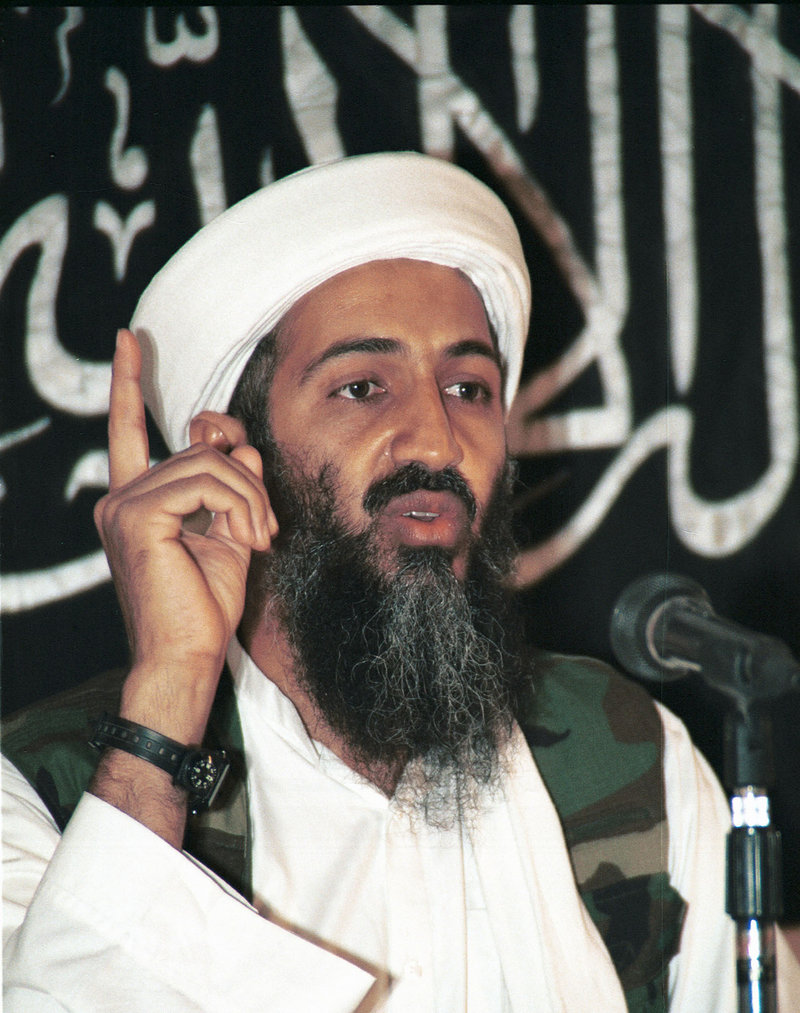 Osama bin Laden is shown in a 1998 file photo. Readers object to multiple aspects of the campaign to kill him.