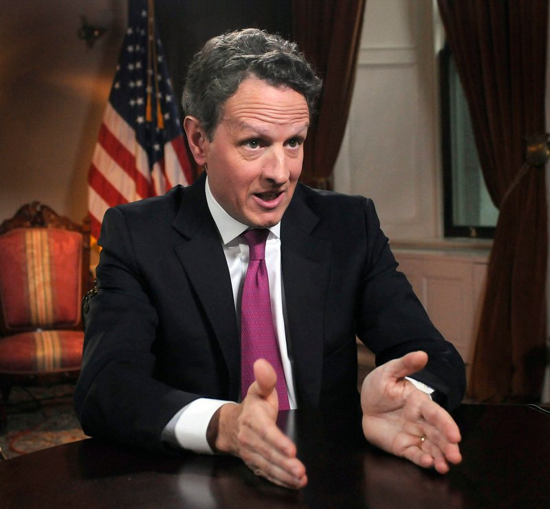 Treasury Secretary Timothy Geithner said in a new letter to congressional leaders Monday that he can give Congress more leeway to pass an increase in the government's borrowing limit in time to prevent an unprecedented default on the nation's debt.