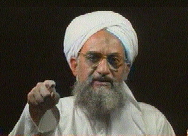 Al-Qaida's deputy leader Ayman al-Zawahiri, Osama bin Laden's second in command, addresses the camera in this file image from television transmitted by the Arab news network Al-Jazeera in 2006. But a number of al-Qaida leaders may vie to take charge of the terrorist organization.