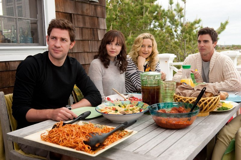 John Krasinski, from left, Ginnifer Goodwin, Kate Hudson and Colin Egglesfield star in the romantic comedy