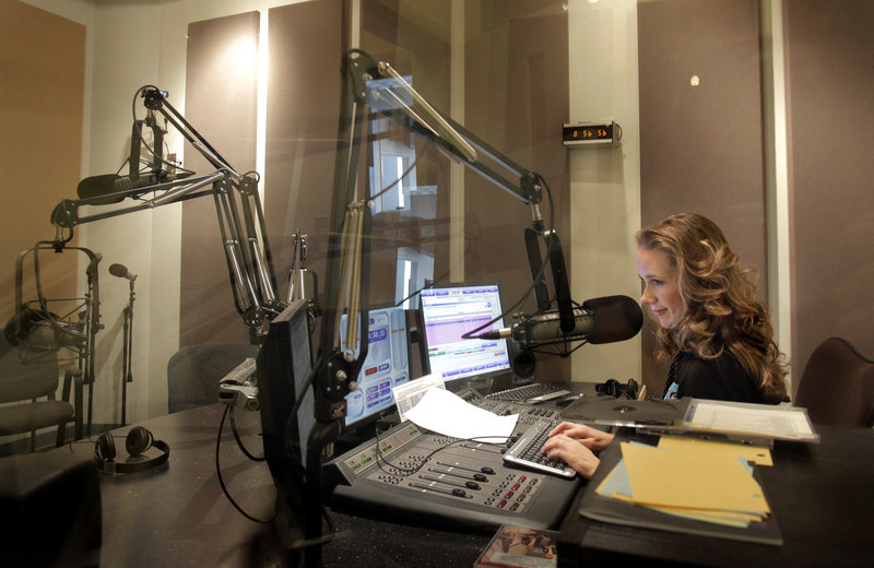 Suzanne Nance's morning radio shows end at noon, but she works the rest of the day on her programs and answers listeners emails, and often attends performances around Maine in the evening.