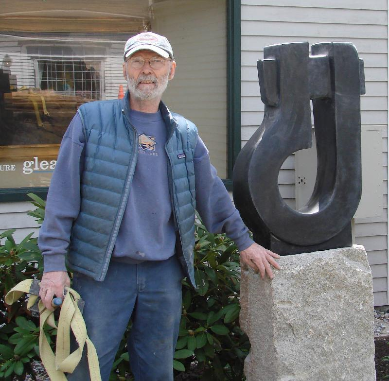 Don Justin Meserve of Round Pond, a sculptor and teacher who died in November, will be remembered at a reception Saturday at Gleason Fine Art in Portland.