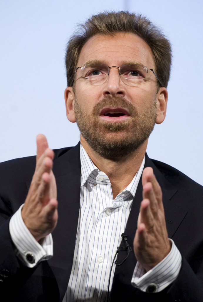 Edgar Bronfman Jr. is staying on as CEO under Warner Music's new owner, which many see as a sign the company intends to buy EMI.