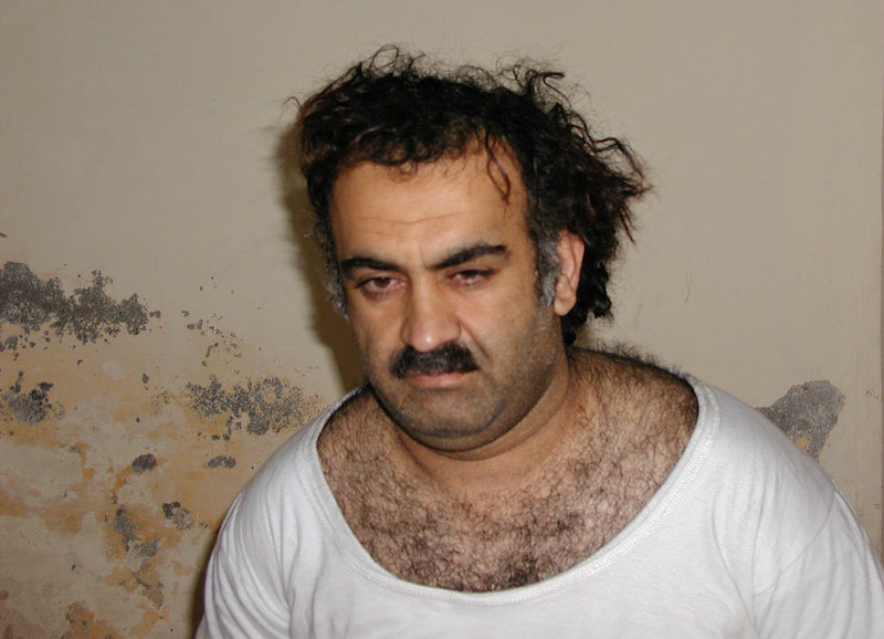 TWO PIECES OF THE PUZZLE: Khalid Sheikh Mohammed, above, and Abu Faraj al-Libia, below, both onetime al-Qaida operational leaders, at first denied knowing one of al-Qaida's most important couriers, Abu Ahmed al-Kuwaiti. Suspecting lies, the CIA reasoned that if they could find al-Kuwaiti, they could find Osama bin Laden. And years later al-Kuwaiti did unwittingly lead the agency to bin Laden in Pakistan.
