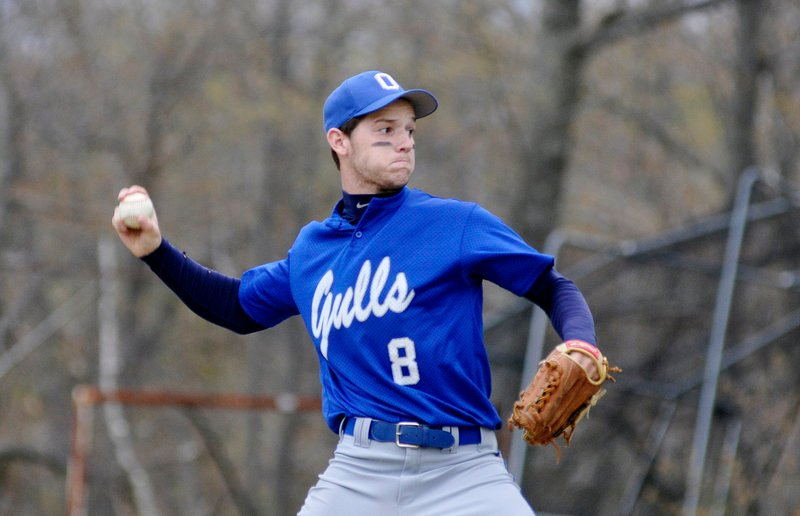 One rough inning proved costly for Old Orchard Beach pitcher Ryan Gallant in the Seagulls' loss to Waynflete.