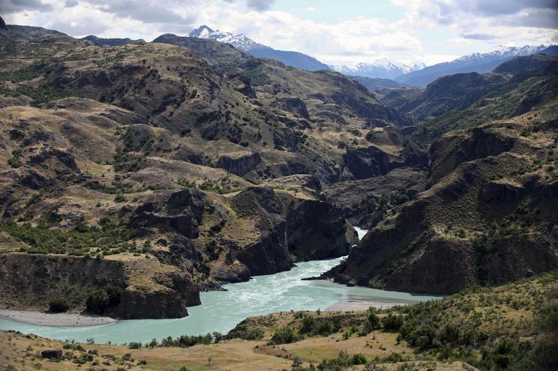This 2008 photo shows the Baker River in the Aysen region of Chile's Patagonia. HidroAysen's plan to build five dams at a cost of $7 billion won environmental approval of a government commission Monday. The dams would drown 14,000 acres, require carving clear-cuts through forests, and eliminate whitewater rapids and waterfalls that attract ecotourism.