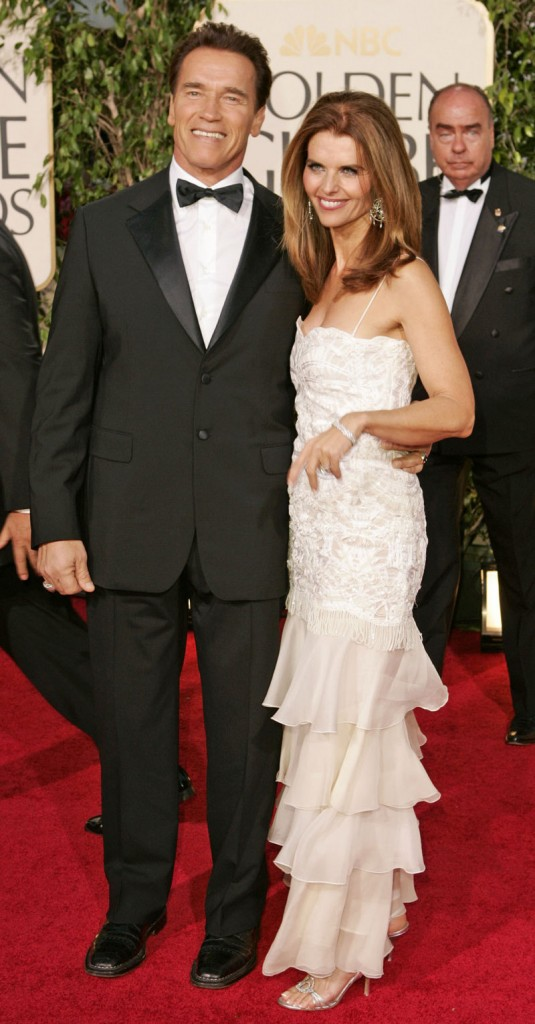 Arnold Schwarzenegger and Maria Shriver married 25 years ago and have four children. The youngest is 13.