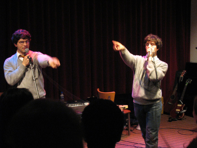 Harry and The Potters will be at College of the Atlantic in Bar Harbor on Friday.