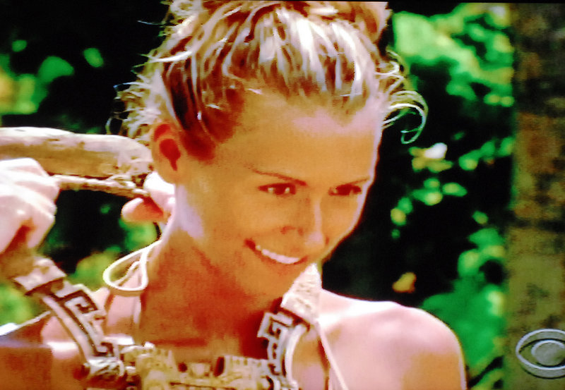 """Ashley Underwood, a native of Benton, is among a handful of finalists on """"Survivor: Redemption Island."""" The season finale airs at 8 tonight on CBS."""