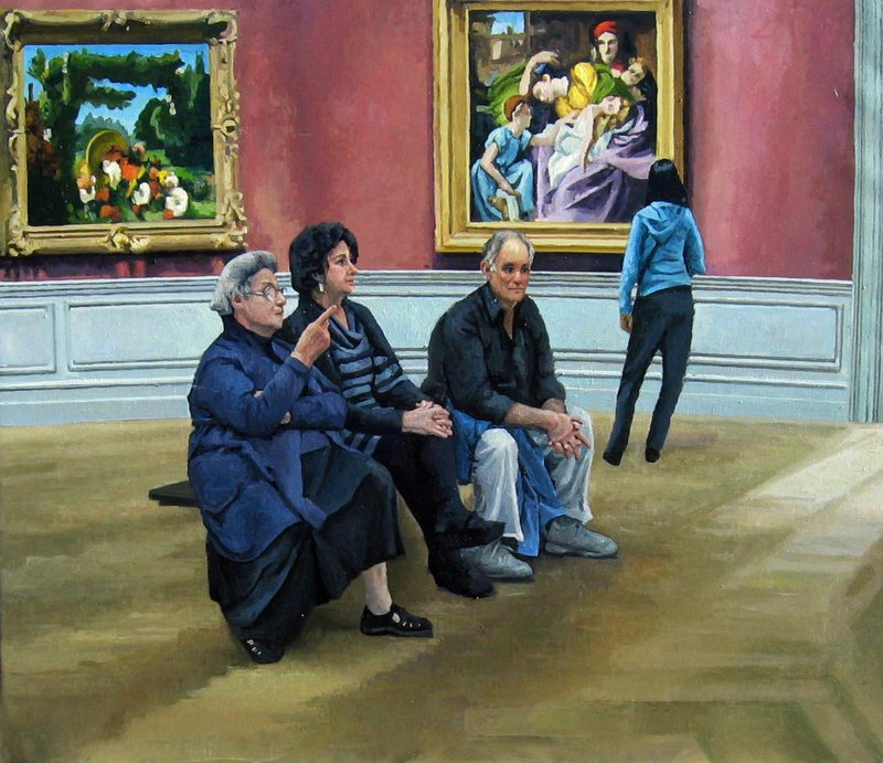 """At the Met"" by Judy Taylor"