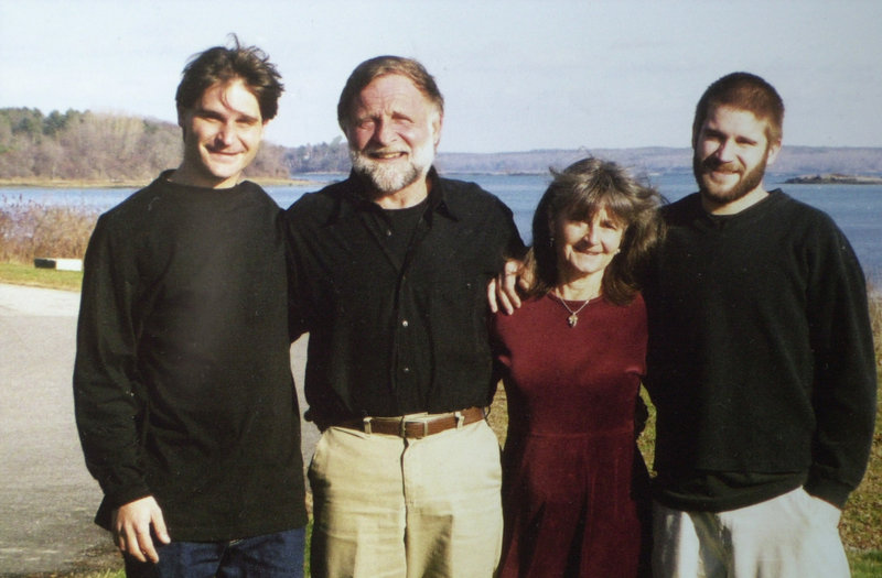 Seth Jordan, left, is seen in a family photo.
