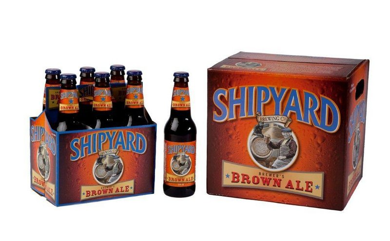 Shipyard won two first-place awards at the West Coast Brew Fest's Commercial Craft Competition, one of which was for its Brewer s Brown Ale).