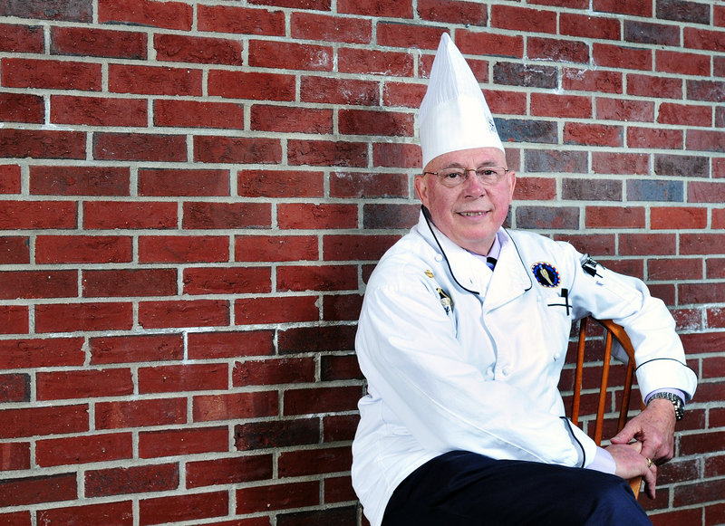 "SMCC graduate Torrey Pollard, 25, calls Chef Wilfred R. Beriau, above, ""an amazing, amazing teacher"" whose retirement will be ""a big loss"" to the school. Pollard, who now works at El Rayo in Portland, remembers Beriau's class as the class that ""you didn't screw around in. It was all business."""