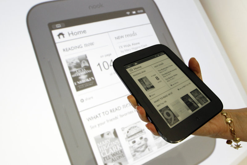 The new Nook, which will roll out June 10, has a low price of $139 and 37 fewer buttons – just one, in fact – than the Kindle 3, boasts Barnes & Noble CEO William Lynch.