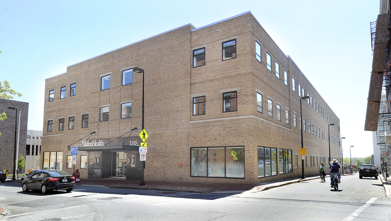 MaineHealth bought its new headquarters at 110 Free St. for $3.5 million and moved in last November after extensive renovations. Officials expected the tax bill to rise to about $180,000 in the coming year.