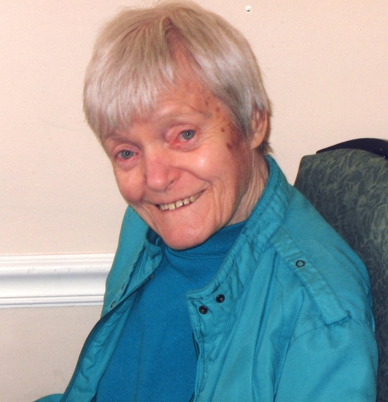 Norma Twyne is shown at the Portland Center for Assisted Living in 2008.