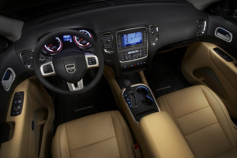 Although it looks great on the outside, it's the Durango's interior that benefits most from the SUV's overhaul.