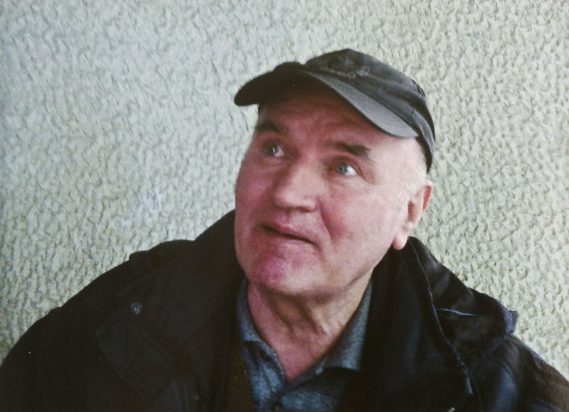 Former Bosnian Serb army commander Ratko Mladic, seen in a photo from the Politika newspaper, was arrested Thursday in Serbia after years in hiding. A Serbian war-crimes court ruled Friday that Mladic, 69, is fit to stand trial and can be handed over to a U.N. tribunal.