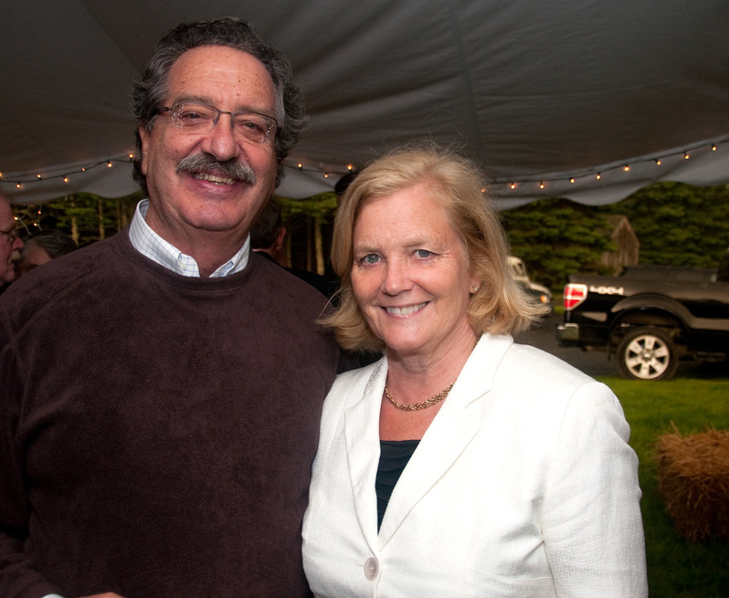 Donald Sussman and Chellie Pingree were married Saturday night in a private ceremony in North Haven.
