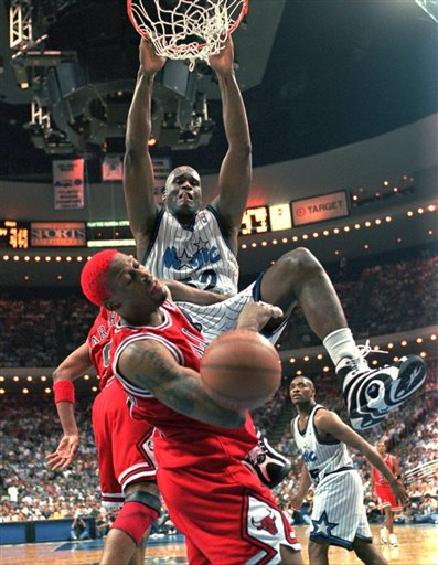 Shaquille O'Neal sent a Tweet shortly before 2:45 p.m. saying,