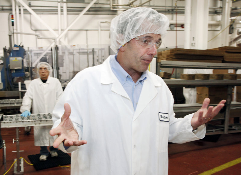 """Barber Foods President David Barber describes the sale of the Portland company on Wednesday. """"It's a great cultural fit that feels right,"""" he said."""