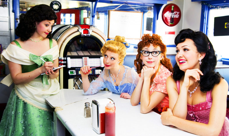 "From left, Brittney Morello, Danielle Erin Rhodes, Morgan Smith and Lara Seibert star as ""The Fabulous Wonderettes."""