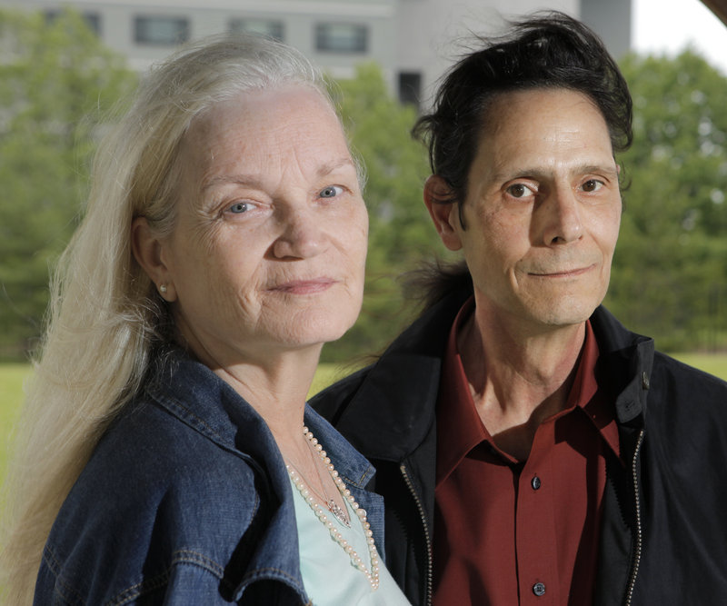 Maryjane and Eugene Roberts left Joplin, Mo., a day before a tornado struck, killing at least 138 people. The couple, now homeless, are staying with her father in Portland.