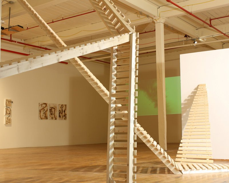 "Richard Keen's installation at the Coleman Burke Gallery in Brunswick has an ""Escher-like disdain for rationality."""