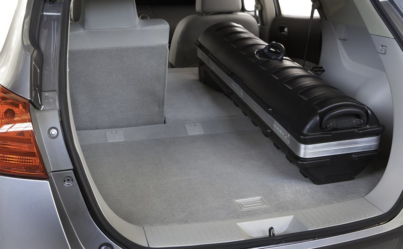The Rogue has plenty of storage space in a utilitarian and fuel-efficient package.