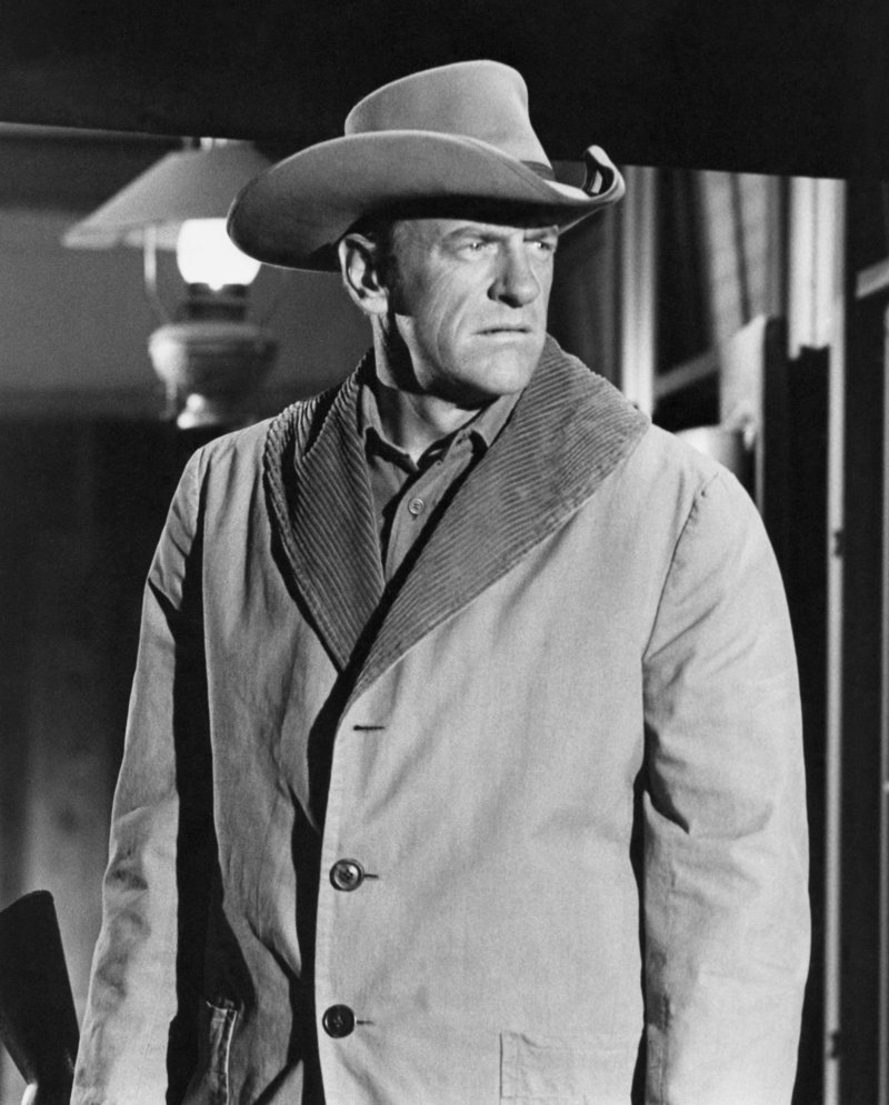 James Arness as Marshal Matt Dillon in