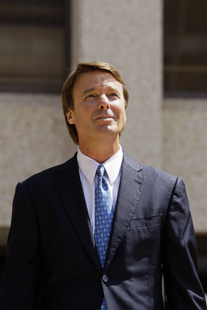 The Justice Department says payments made to John Edwards' mistress amounted to the misuse of presidential campaign funds.