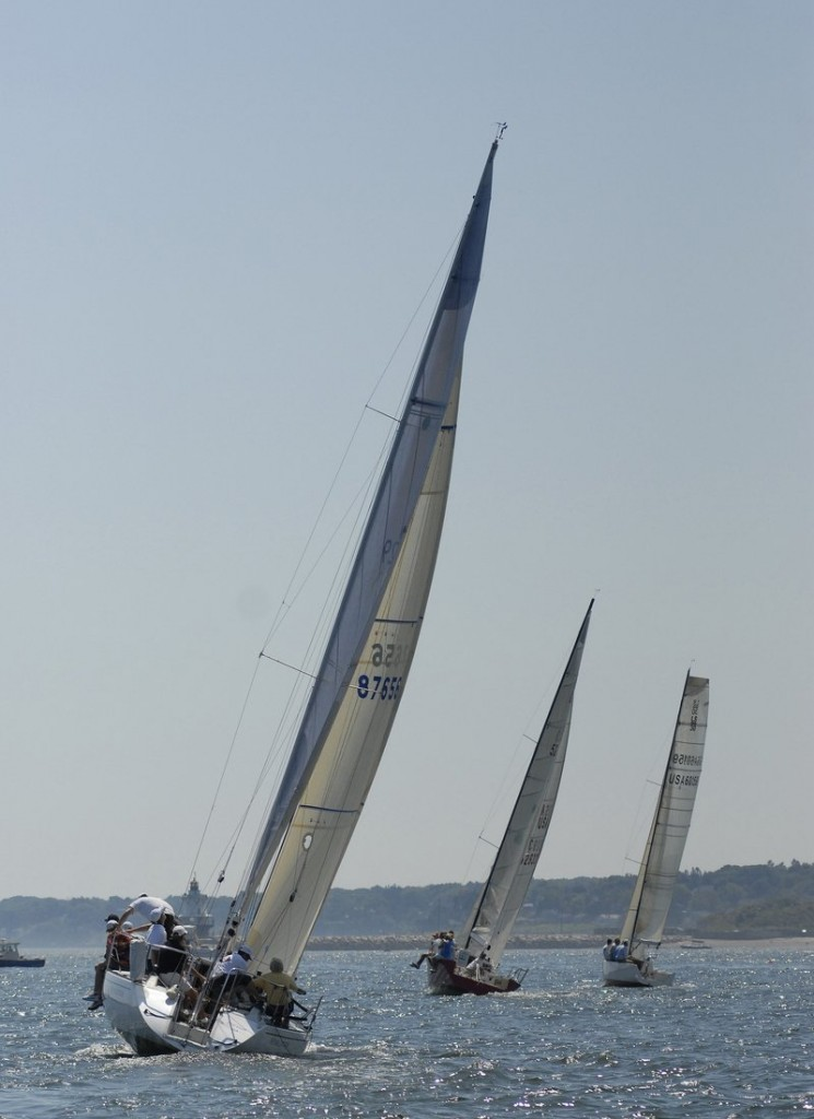 The MS Regatta in August in Casco Bay is a highlight of the Maine racing season for sailors and spectators.