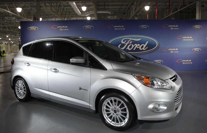 The Ford C-Max hybrid minivan will be the company's first U.S. vehicle sold only as a hybrid.