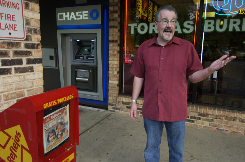 Robert Adams describes how he found a bag containing $17,021 in cash, next to a news box in front of a bank near the restaurant he planned to visit in Rolling Meadows, Ill. Adams called police, and eventually the rightful owner was located.