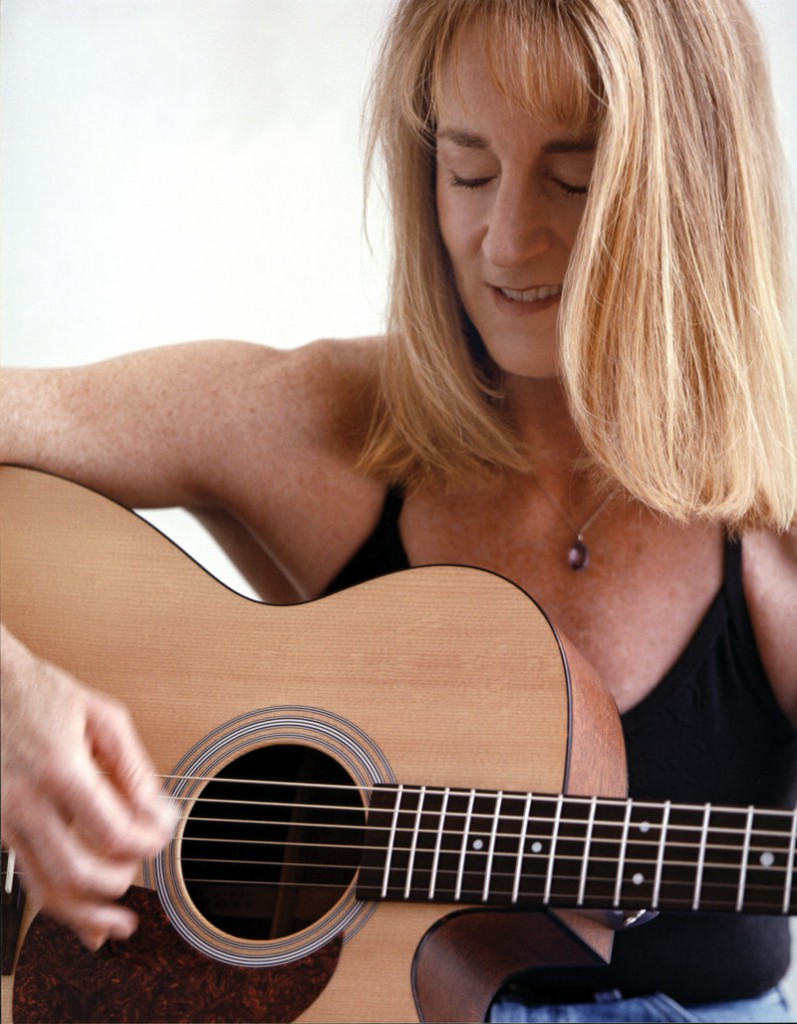 Anni Clark has fond memories of Portland, including her first Old Port Festival gig in 1982. A photo from that event became the cover for the CD re-release of her first two vinyl records from 1985 and 1989.