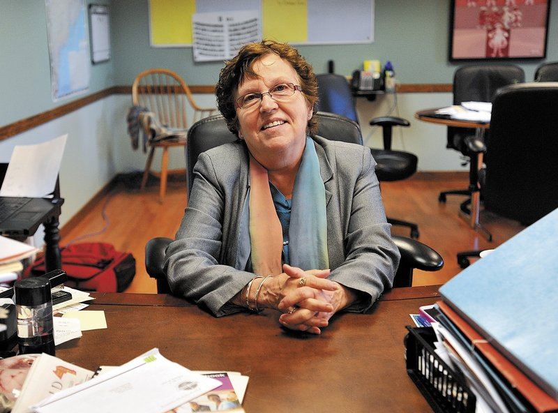 "Susan Giguere, owner of Care & Comfort, ""has more tenacity ... than anybody that I know of,"" says her husband, Leo. That quality helped her develop a home health and mental health agency into one of the largest in Maine."